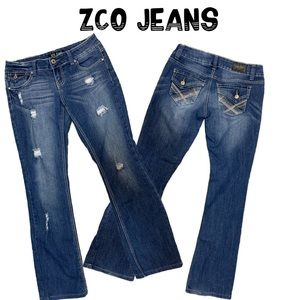 ZCO distressed Jeans size 7